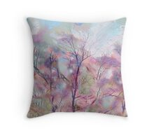 Painted Skies Throw Pillow