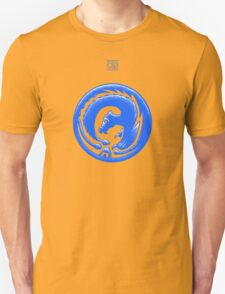 Dragon Circle Blue T-Shirt