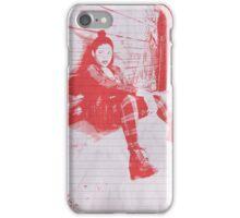 """Punk Rock Girl"" iPhone Case/Skin"