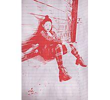 """Punk Rock Girl"" Photographic Print"