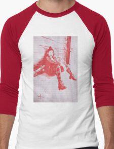 """""""Punk Rock Girl"""" Men's Baseball ¾ T-Shirt"""