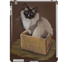 Cheeky Puss iPad Case/Skin