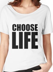 CHOOSE LIFE - WHAM! Women's Relaxed Fit T-Shirt