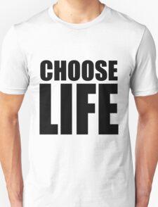 CHOOSE LIFE - WHAM! T-Shirt