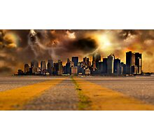 Road to Oblivion Photographic Print