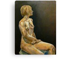 Female Nude Canvas Print