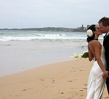 Beach Wedding - Cronulla by Jackie Hewett