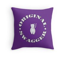 Original Swagger (Purple) Throw Pillow