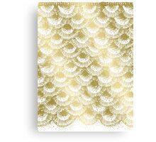 Organic Burst Gold Canvas Print
