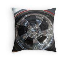 Chrome Rim Throw Pillow