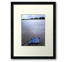 A float Framed Print