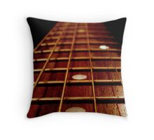 Musical Road. Throw Pillow