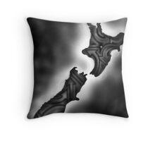 New Zealand-Street Side Throw Pillow