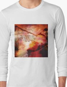 When One Door Of Happiness Closes Long Sleeve T-Shirt