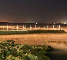 Night photography - Cronulla Beach by Jackie Hewett