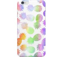 RAINBOW - PINEAPPLE by Kohii Love and Toso Journ iPhone Case/Skin
