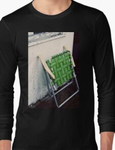 green chair Long Sleeve T-Shirt
