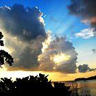 Sun Rays - Fiji by Tisa