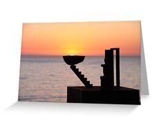 Sunrise - Bondi Beach, Australia Greeting Card