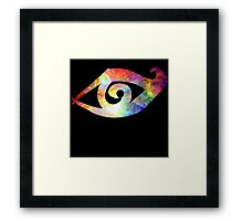 Rune of Clairvoyant Sight Framed Print