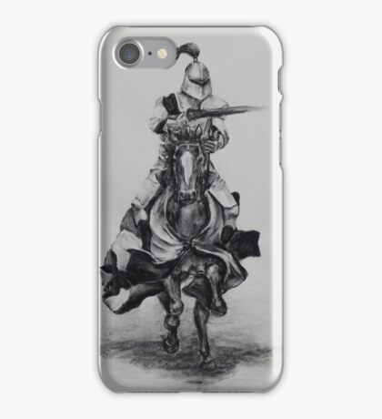 Charging knight optimised size for bags iPhone Case/Skin