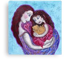 Cradled moment Canvas Print