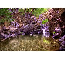 shan creek hdr Photographic Print