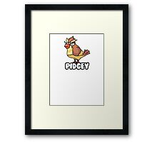 PIDGEY IS DISPLEASED WITH YOU  Framed Print