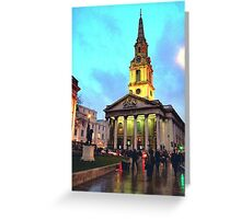 St Martin Greeting Card