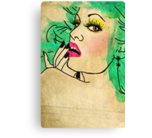 Florence Had A Secret [Shhh...] Canvas Print