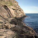 East Point Cliffs Saturna Island by TerrillWelch