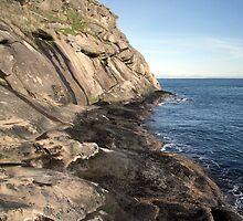 East Point Cliffs Saturna Island by TerrillWelch