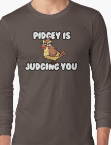 Pidgey is Judging You Long Sleeve T-Shirt