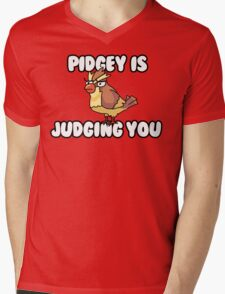 Pidgey is Judging You Mens V-Neck T-Shirt
