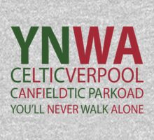 Liverpool-Celtic You'll Never Walk Alone by EvilGravy