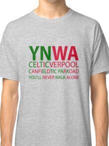 Liverpool-Celtic You'll Never Walk Alone Classic T-Shirt