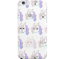 The Many Faces of Daemon Orisol iPhone Case/Skin