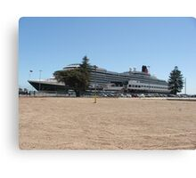 Queen Victoria Cruise Liner Canvas Print