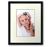 "Hey Australia.... support ""Shave for a Cure"" any way you can!!! #2 Framed Print"