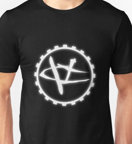 Glowing Visceral Creations Logo White T-Shirt