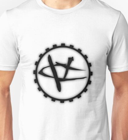Glowing Visceral Creations Logo Black T-Shirt