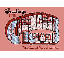 Greetings from Cinnabar Island Photographic Print