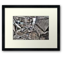 HDR Show in Victoria BC Framed Print