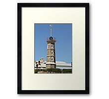 Lighthouse Lookout Framed Print