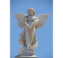Memorial Angel Photographic Print