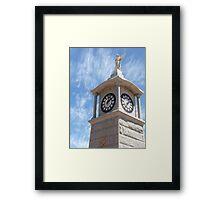War Memorial Tower Framed Print