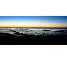 North Cronulla Baths at Sunrise by Jackie Hewett