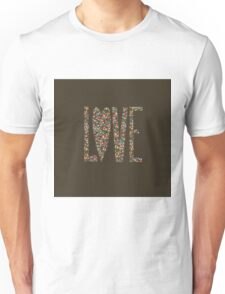 Love Flowers Floral Design Unisex T-Shirt