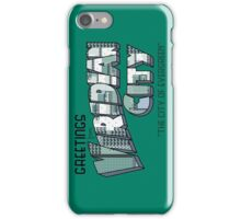 Greetings from Viridian City iPhone Case/Skin