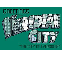 Greetings from Viridian City Photographic Print